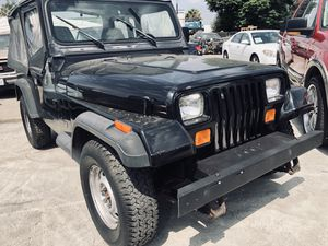 1994 Jeep Wrangler 4wd Stick shift w/ 178k miles for Sale in Chino, CA