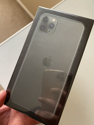 iPhone 11 Pro Max midnight green new for Sale in Commerce City, CO