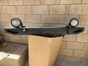 Jeep front bumper - Fits YJ and TJ for Sale in Chino Hills, CA