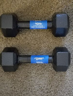 10 Pound Dumbbells for Sale in Newport News, VA