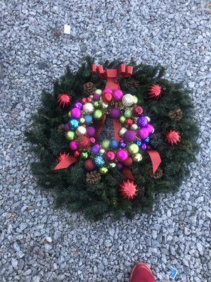 Corona de Christmas para la puerta for Sale in Phoenix, AZ