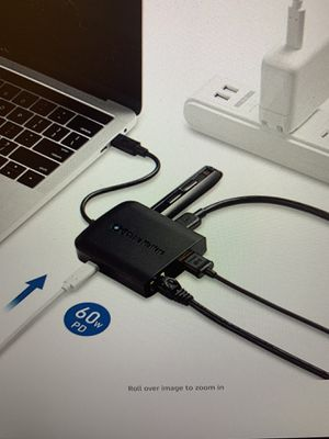 Adapter, Multi-port adapter USB Hub HDMI 4 K for MacBook for Sale in Bolingbrook, IL