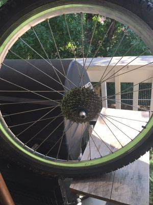26 inch rim and new tire for Sale in Prineville, OR