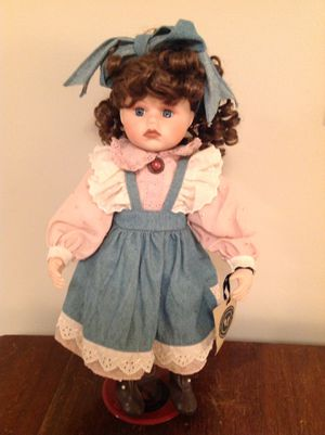 Boyd's Bears collection porcelain doll for Sale in Tremont, IL