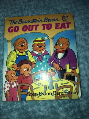 The Berenstain Bears Go Out To Eat for Sale in Colonial Heights, VA