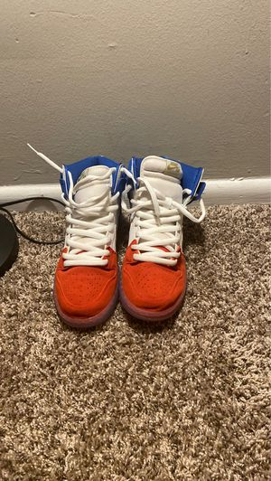 Nike SB High Red, White, Blue gold/ Sole collecter for Sale in Beckley, WV