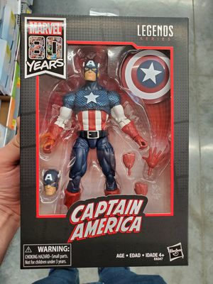 Marvel legends Captain America 80 years action figure for Sale in Pembroke Pines, FL