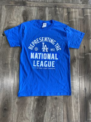 National League Dodgers Baseball Tee Soft Cotton for Sale in Los Angeles, CA