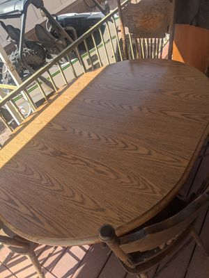Dining table with four chairs for Sale in Tonto Basin, AZ