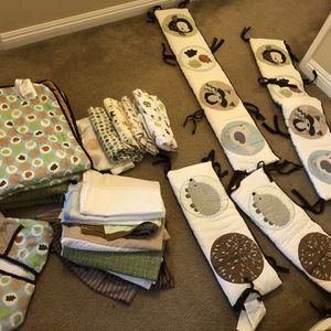 Forest Friends Crib Bedding Set for Sale in Loma Linda, CA