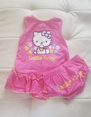 Set para niña pequeña 12 meses HELLO KITTY for Sale in Los Angeles, CA
