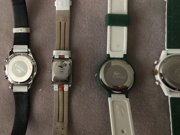 Lacoste Men's Ladies Watches LIKE NEW