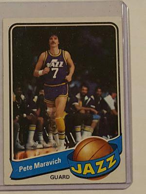 1979 Pete Maravich Utah Jazz for Sale in Hacienda Heights, CA
