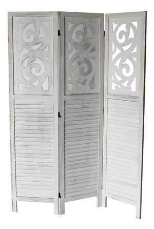 3 Panel Room Divider, Grey, 7036GR for Sale in Santa Fe Springs, CA
