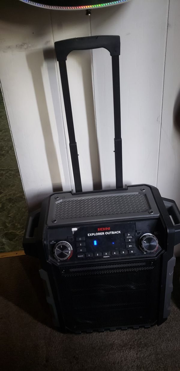 Ion explorer outback bluetooth speaker