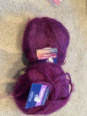 2 skeins of pingouin yarn for Sale in Kent, WA