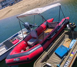 12ft achilles inflatable boat for Sale in Norco, CA