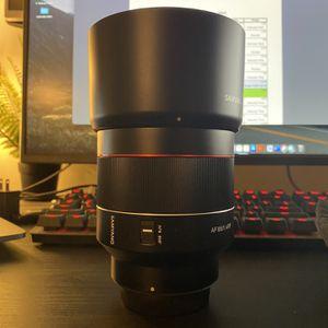 Samyang / Rokinon RF 85mm Lens for Sale in Mesa, AZ