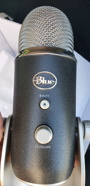 Blue Microphones- Yeti Pro Studio with professional shock mount(NO AUDIO INTERFACE NEEDED) for Sale in Hopewell, VA