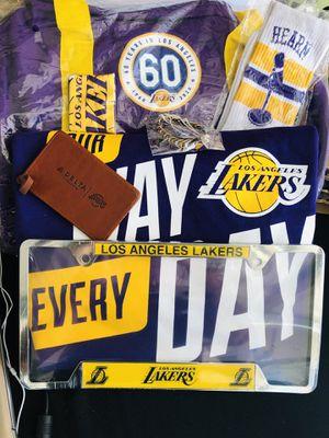 LA Lakers Duffle Bag Fan Bundle! for Sale in Huntington Beach, CA