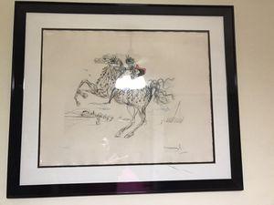 Salvador Dali Lithograph Caped Horse for Sale in Sunrise, FL