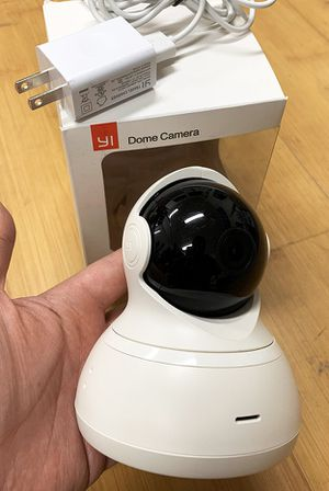 New $30 YI Dome Camera Full Motion Tilt/Zoom, 720p HD Wi-Fi IP (2.4GHz) Security Surveillance for Sale in Whittier, CA
