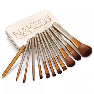 Naked 3 by Urban Decay Set of 12 Professional Makeup Brushes for Sale in Boca Raton, FL