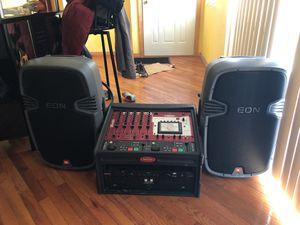Jbl powered speakers Dj sistem for Sale in Chicago, IL