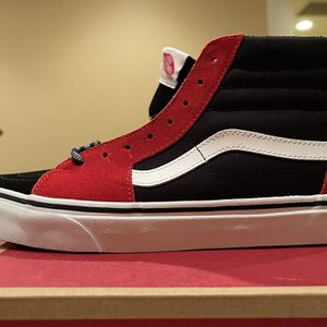 Vans SK8-Hi Red and Black for Sale in Chino Hills, CA