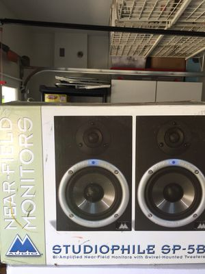 M Audio Studiophile SP 5B Studio Monitors for Sale in Chino Hills, CA