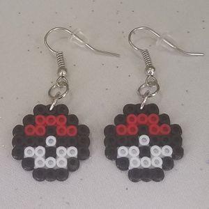 Mini pokeball perler bead earrings for Sale in Riverview, FL