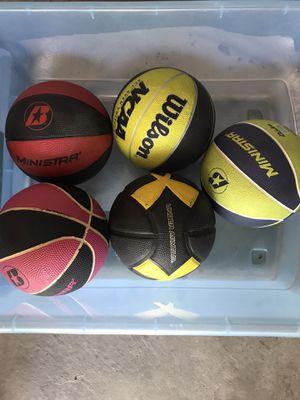 Mini basketballs for Sale in Aurora, CO