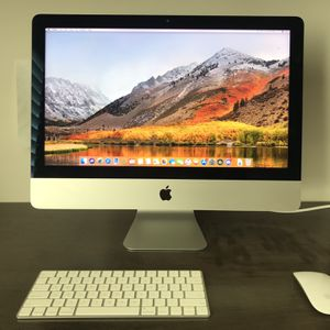 iMac 4k, 21.5 inch (includes Wireless Mouse And Keyboard. for Sale in San Diego, CA