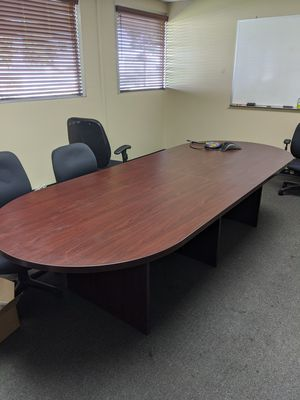 Conference room table for Sale in Riverside, CA