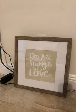 Framed wall art for Sale in Tampa, FL