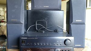 Pioneer receiver, speakers and sub for Sale in New York, NY