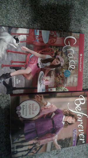 American girl books Grace and Rebecca for Sale in Crownsville, MD