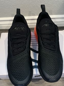 NIKE AIR MAX 270 ah8050-010 black/black-hot punch US12.5 for Sale in Glendale,  CA