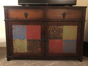 Colorful Chest / Entertainment Center for Sale in Seattle, WA