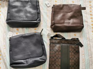 NEW coach men's Messenger Bag for one for Sale in West Linn, OR