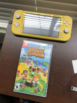Nintendo Switch Lite and Animal Crossing for Sale in Houston, TX