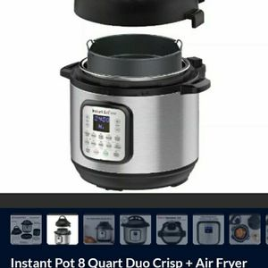 Instant Pot 8 Quart Duo Crisp + Air Fryer - New The Instant Pot® Duo Crisp™ + Air Fryer is the best of all possible worlds. With 11-in-1 functions for Sale in Ontario, CA