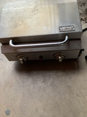 Outdoor portaable Stainless steel 2 Burners Gas BBQ Grill for Sale in Dallas, TX