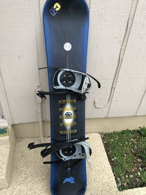 """59"""" Snowboard with boots 9 for Sale in Nashville, TN"""