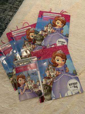 Lot 4 Hallmark Disney Gift Bags Birthday for Sale in Victoria, TX