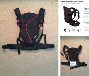 Evenflo baby carrier for Sale in Columbus, OH