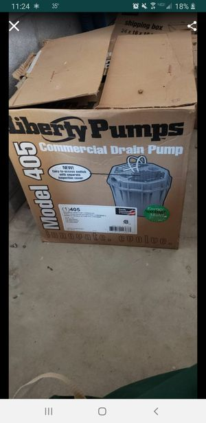 Liberty Pumps 405 Commercial 1/2 HP Drain Pump for Sale in Chicago, IL