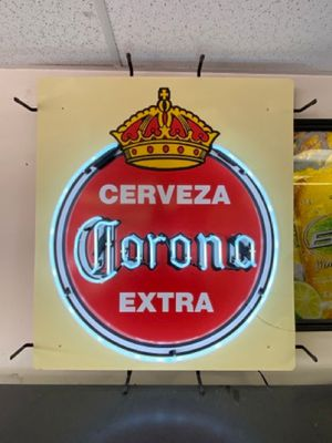 Very rare collectible cerveza corona extra neon sign for Sale in Gaithersburg, MD