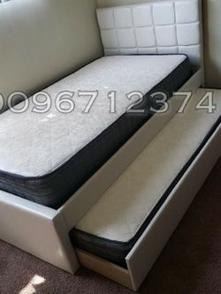 Twin_Twin Size Trundle Bed W Mattress Included for Sale in Los Angeles,  CA