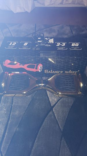 Golden Hoverboard w/ Bluetooth for Sale in Tacoma, WA